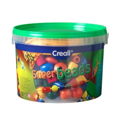 Комплект перли за нанизване CREALL SuperBeads, 245 части