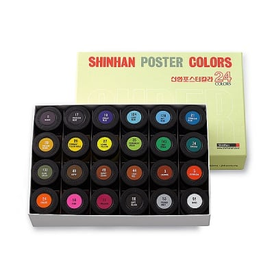 Комплект плакатни бои ARTISTS' POSTER, 40 ml