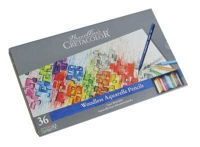 Комплект сърцевини CretaColor, AQUA MONOLITH, 36 цвята
