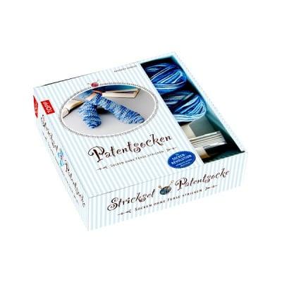 Комплект, Strickset Patentsocke Jeans, Geschenkbox