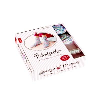 Комплект, Strickset Patentsocke Pastell, Geschenkbox