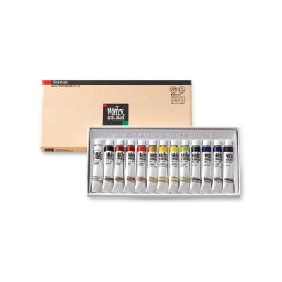 Комплект водни бои ARTISTS' WATER, 7.5 ml, 13 цв.