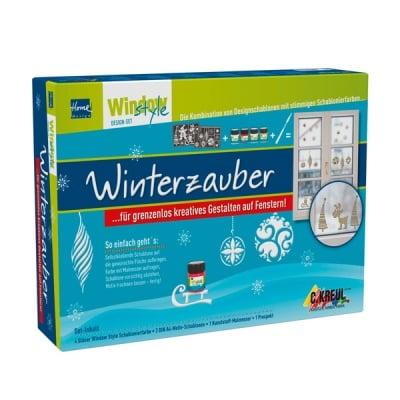 Комплект за декориране на прозорци Window Style Design, Winterzauber