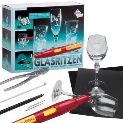 Комплект за гравиране на стъкло