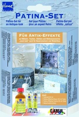 Комплект за създаване на античен (патина) ефект, 4 части