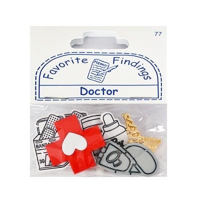 Копчета, Doctor, 7бр. бели/ сиви/ златни