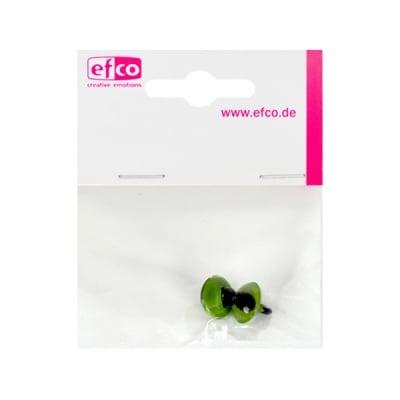 Копчета котешки очички, ф 12 mm, 2 броя, зелени