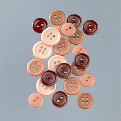 Копчета, Natural, 10 - 15 mm, 40 g, бежово/кафяво