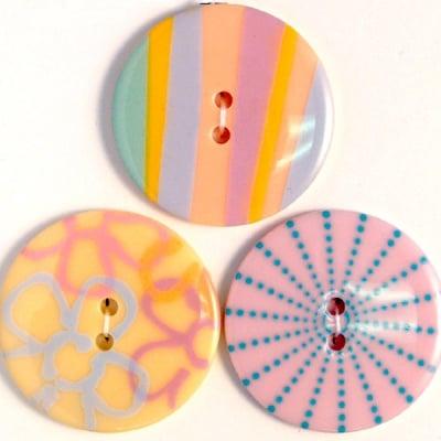 Копчета, сензация, бледи тонове, 35 mm, 3бр.