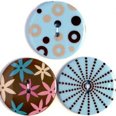 Копчета, сензация, сини, 35 mm, 3бр.