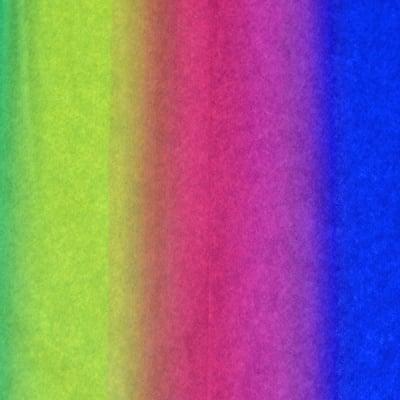 Копринена хартия, 20 g/m2, 50 x 70 cm, 1л, дъга