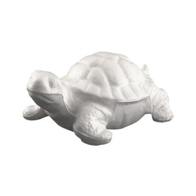 Костенурка от стиропор, бял, H 180 mm