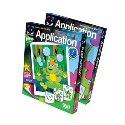 Креативен к-т Application «Froggy»