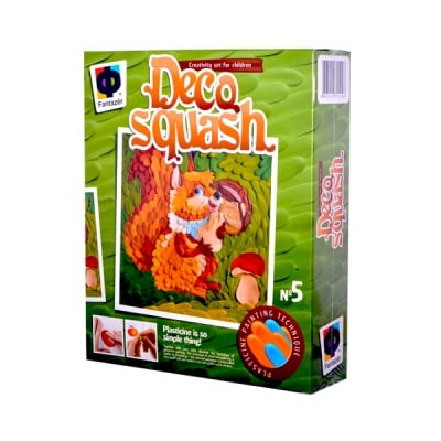 Креативен к-т Deco squash «Small squirel»