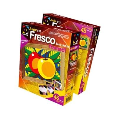 """Креативен комплект за пясъчни картини Fresco """"Apples"""""""