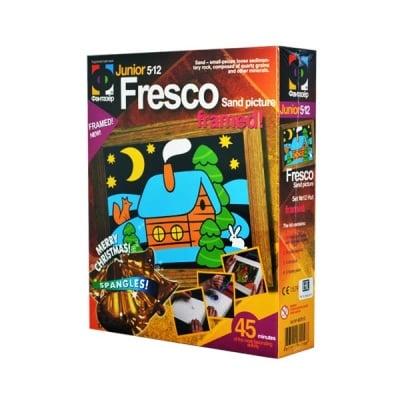 Креативен комплект за сътворяване на пясъчни картини Fresco Hut