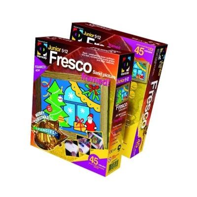 """Креативен комплект за пясъчни картини Fresco """"Under a fir-tree"""""""