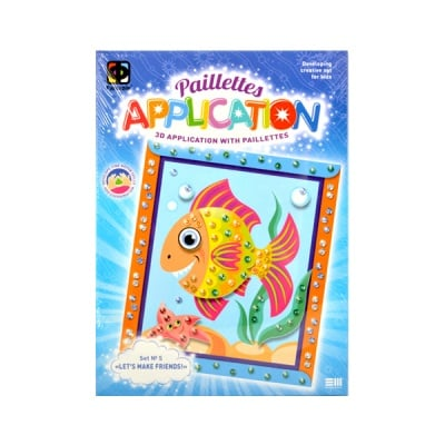 Креативен комплект за 3D апликации, Fish