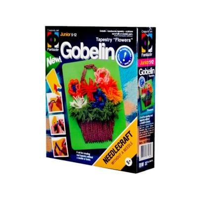 Креативен комплект за изработване на гоблен Tapestry «Flower busket»