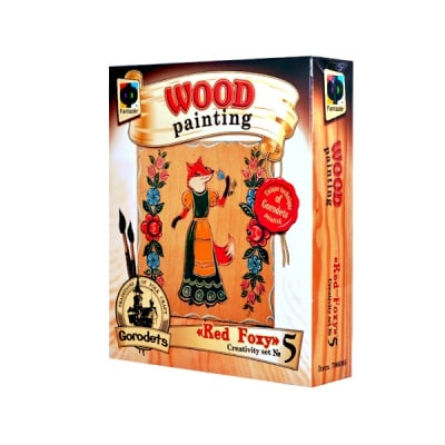 Креативен к-т Wood painting «Red Foxy»