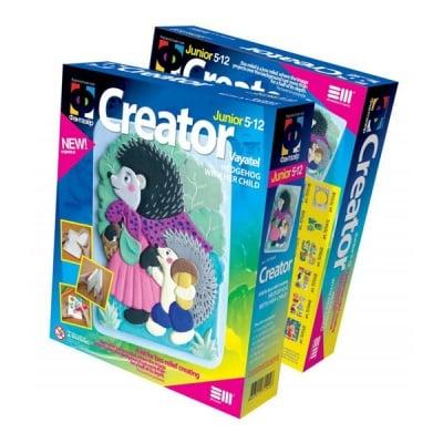 Креативен комплект Creator «Hedgehog with her child»