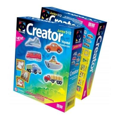 Креативен комплект Creator «Transport»