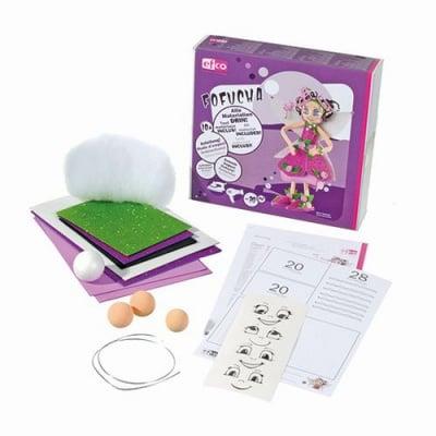 """Креативен комплект за направа на играчка, с инструкции """"Fofucha"""", Елф"""