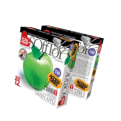 Креативен комплект PLUSH HEART «Green apple»