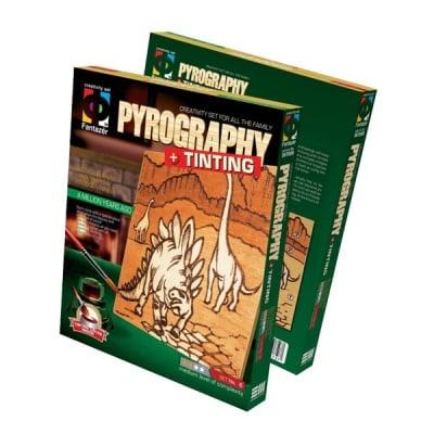 Креативен комплект Pyrography «A million years ago»