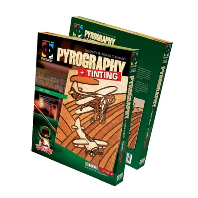 Креативен комплект Pyrography «Air race»