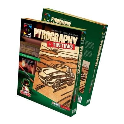 Креативен комплект Pyrography «Long journey»