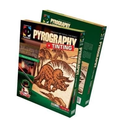 Креативен комплект Pyrography «Prehistoric period»