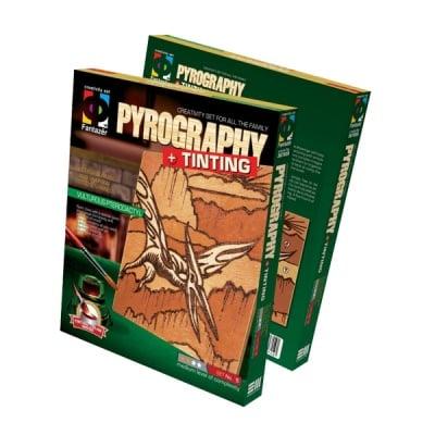 Креативен комплект Pyrography «Vulturous pterodactyl»