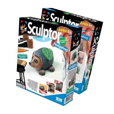 Креативен комплект за скулптора от глина, с инструкции Sculptor «Hedgehog»