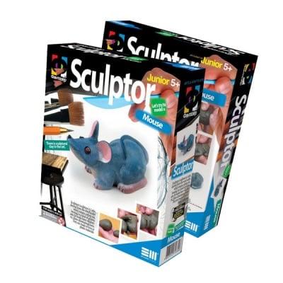 Креативен комплект за скулптора от глина, с инструкции Sculptor «Mouse»