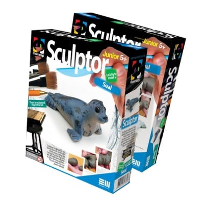 Креативен комплект за скулптора от глина, с инструкции Sculptor «Seal»