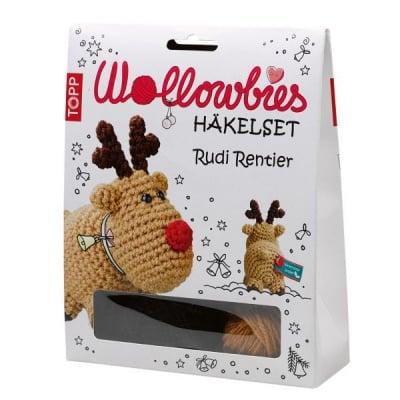 Креативен комплект за плетене на фигурки Wollowbies