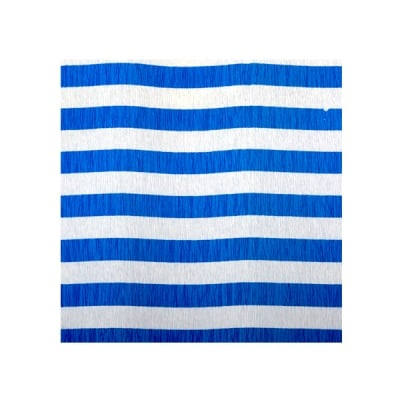 Креп-хартия, 35 g/m2, 50 x 250 cm, 1 ролка, рае бяло/ синьо