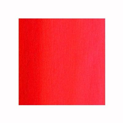 Креп-хартия, 35 g/m2, 50 x 250 cm, 1 ролка, ярко червена