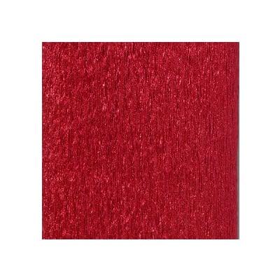 Креп-хартия ALU, 80 g/m2, 50 x 250 cm, 1 ролка, червена