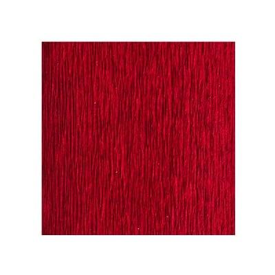 Креп-хартия усилена, 130 g/m2, 50 x 250 cm, 1 ролка, ярко червена