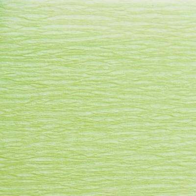 Креп хартия, 35 g/m2, 50 x 250 cm, 1 ролка, пастелнозелен