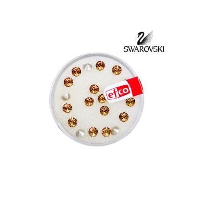 Кристали Swarovski Chatons, ф 4 mm, 20 бр.
