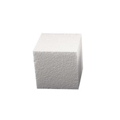 Куб от стиропор, бял, 80 x 80 x 80 mm