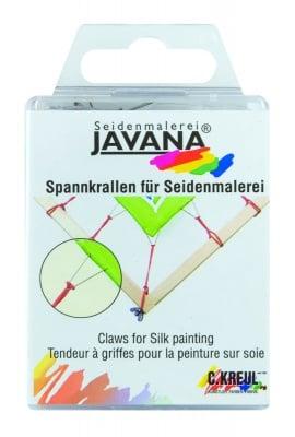 Куки ластични за изпъване на коприна JAVANA, 24 броя