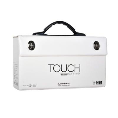 Кутия за маркери TOUCH TWIN BRUSH, 60 [B] маркера, празна