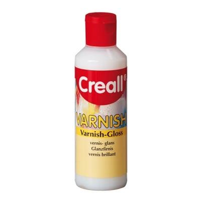 Лак финишен водоустойчив CREALL Varnish, 80 ml, гланц