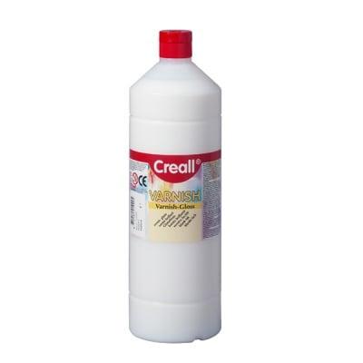 Лак запечатващ на водна основа CREALL, 1000 ml, гланцов