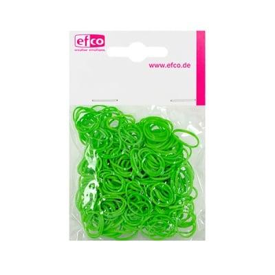 Ластички за плетене на гривни Rubber Loops, 300 бр., зелени