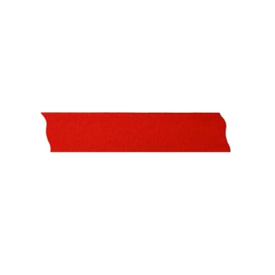 Лента декоративна UNIBAND, 25 mm, 10m, червена